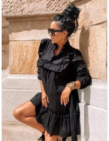 Czarna sukienka mini Zocco