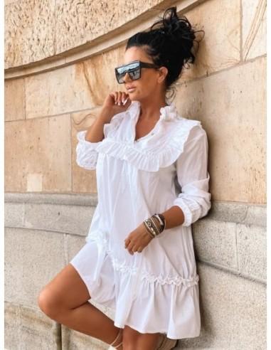 Biała sukienka Zocco