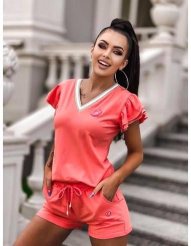 Komplet KORAL Luise - spodenki i t-shirt