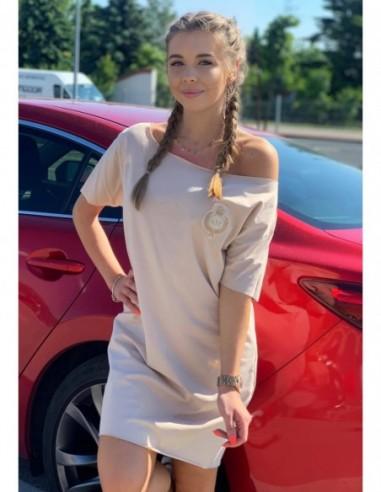 Sportowa sukienka mini s.Moriss