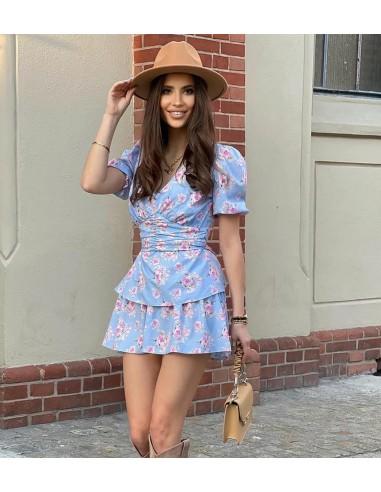 Sukienka w kwiaty La Perla